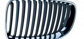Решетка радиатора правая хром BMW 1 E87 (2004-2011)