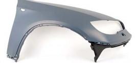 Крыло переднее правое под омыватели фар грунт. BMW X6 E71 (2008-2014)