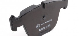 Колодки тормозные задние дисковые BMW 7 E65 (2001-2008)